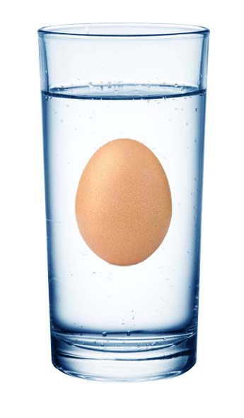 Floating Egg 1