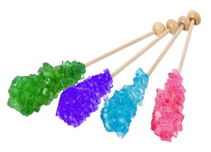 Colorful Rock Candies