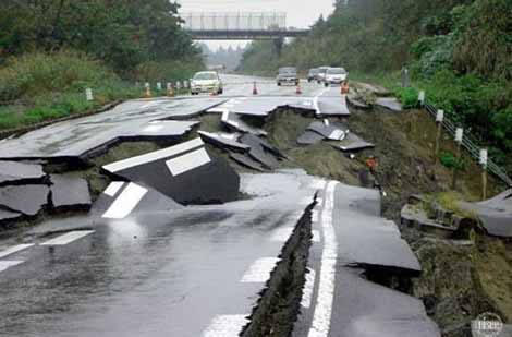 earthquake-road