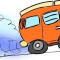 accelerating van