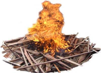 burning-of-wood