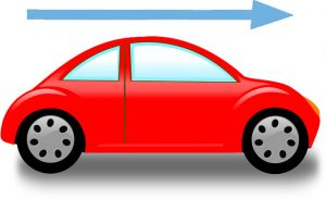 velocity of car