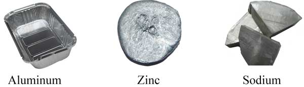 aluminum-zinc-sodium-paramagnetic-materials