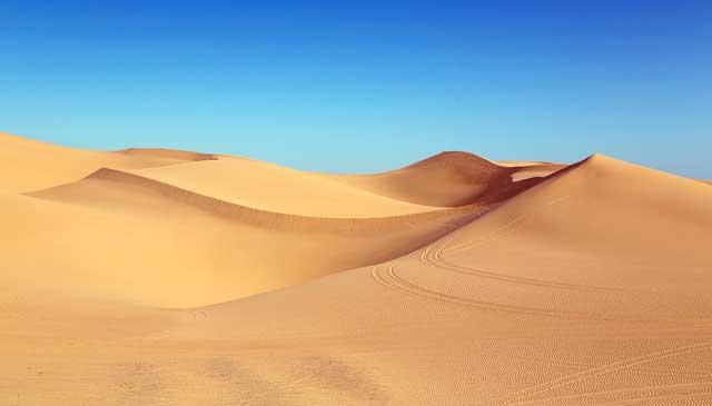 Hot deserts