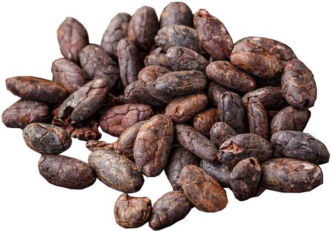 bunch-of-cocoa-beans