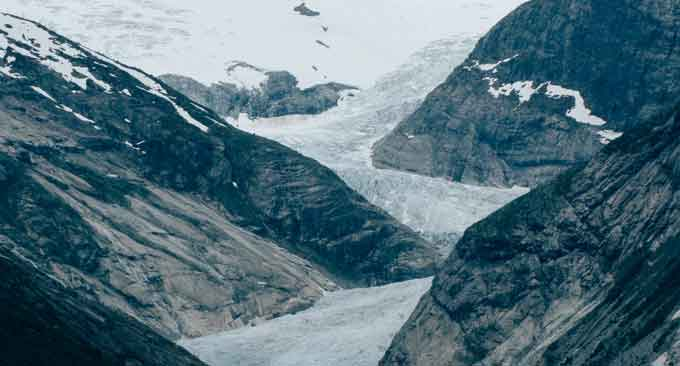valley-glacier
