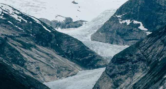 valley-glacier