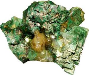 torbernite-crystals