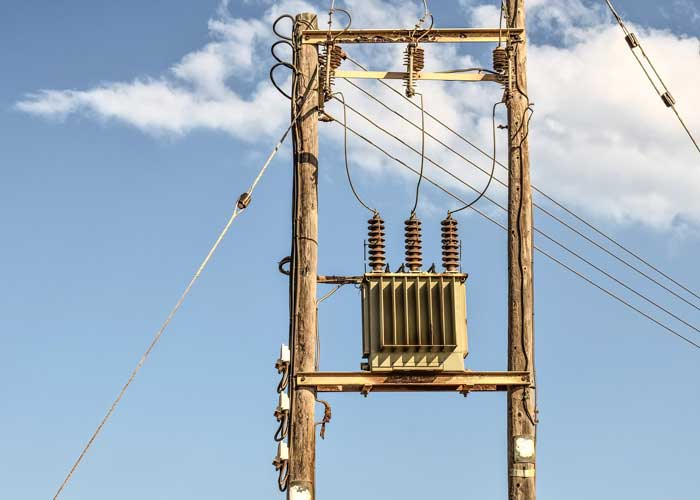 transformer-on-pole