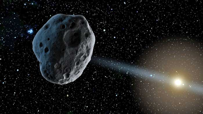 asteroid-in-space