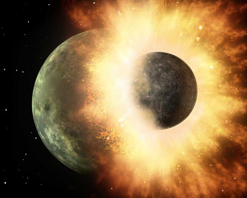the-giant-impact-formation-of-moon