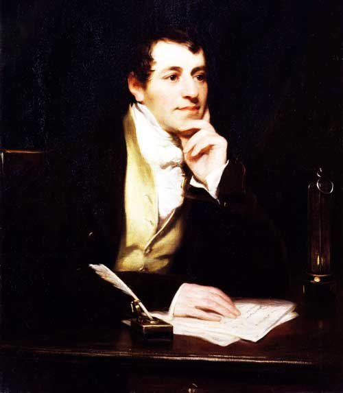 Humphry-Davy-working-on-table