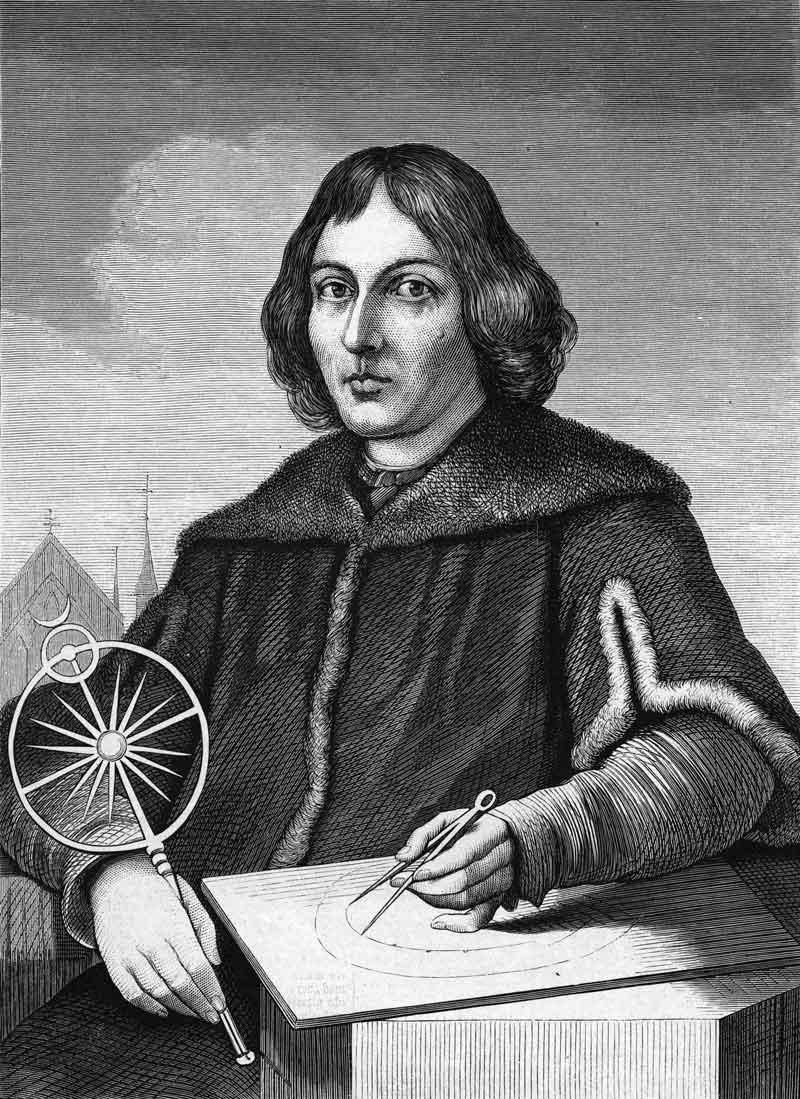 Nicolaus-Copernicus-working