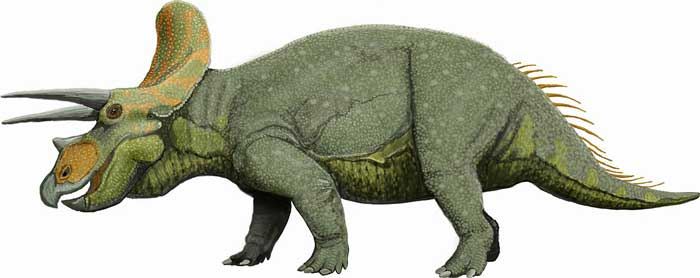 triceratops-green