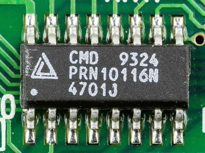 IC-on-circuit-board